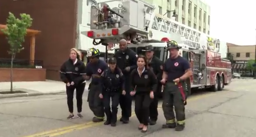 'Uptown Funk' music video features Rock County public safety personnel