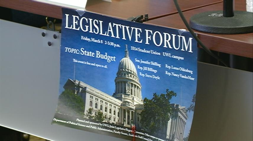 Legislative forum held on UW-La Crosse campus