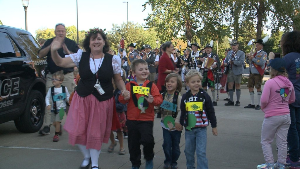 Kids Parade gets kids in Oktoberfest spirit at UWL