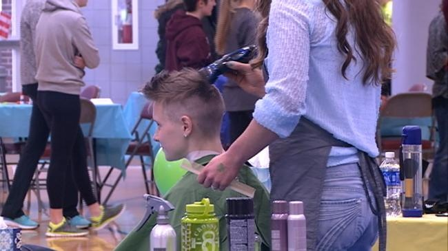 UW-La Crosse hosts St. Baldrick's event for Childhood Cancer Research