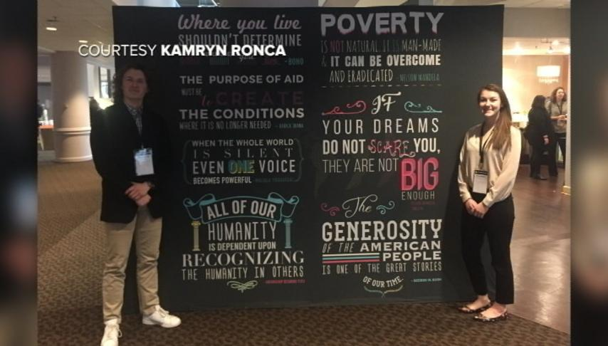 UW-La Crosse students attend Washington, D.C., summit on fighting poverty, disease