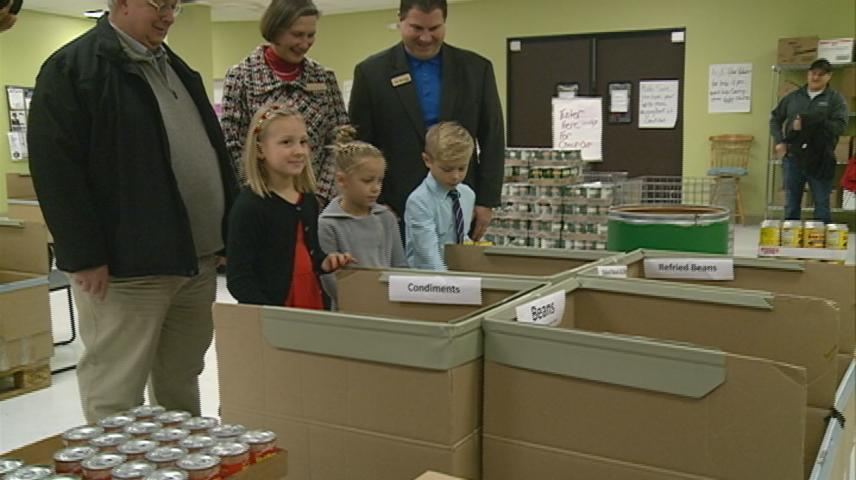 More than a quarter million pounds of food collected as part of '10 Days of Giving'