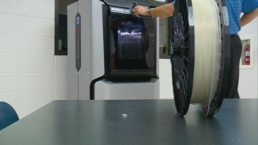 Onalaska High School 3-D printer security monitored