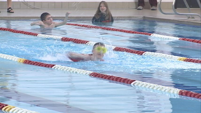 Adaptive Swim Meet gives students the chance to show their skills