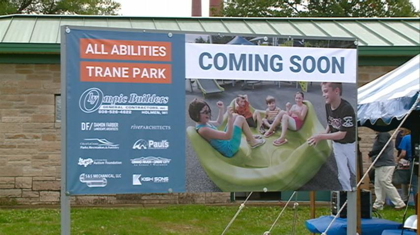 Groundbreaking held for All-Abilities Trane Park in La Crosse