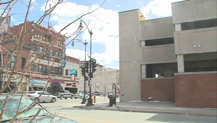 Main Street parking ramp mural coming soon