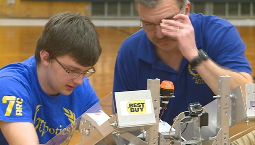 Ashley Furniture sponsors FIRST robotics training day