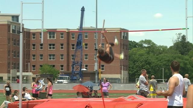 Olympic Gold Medalist attends Badger State Games