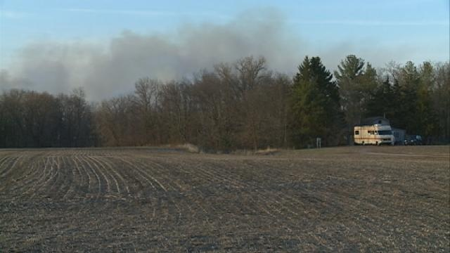 More than 77 acres burn in Bangor area wildfire