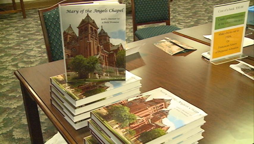 Sister Malinda Gerke holds book signing at Mary of the Angels Chapel