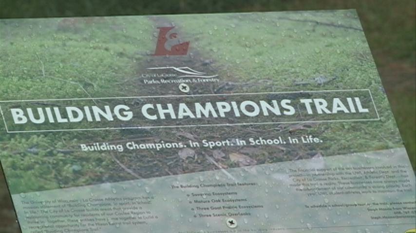 UWL athletics, city parks department teams up for Building Champions Trail