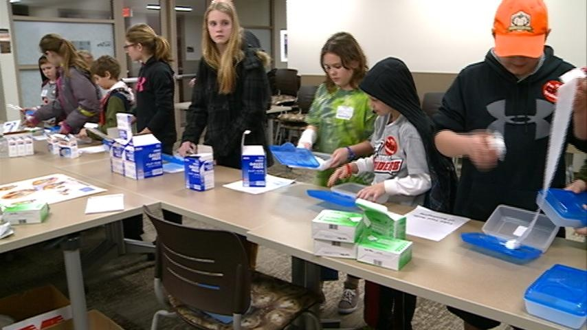 Young students attend classes at Western Technical College for Camp W