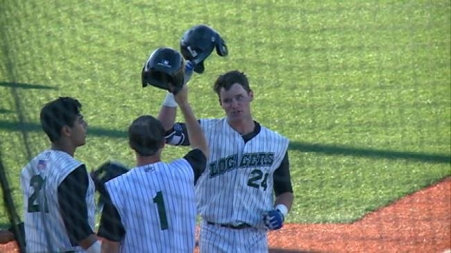 Son of former two-time World Series winner leads Loggers offense
