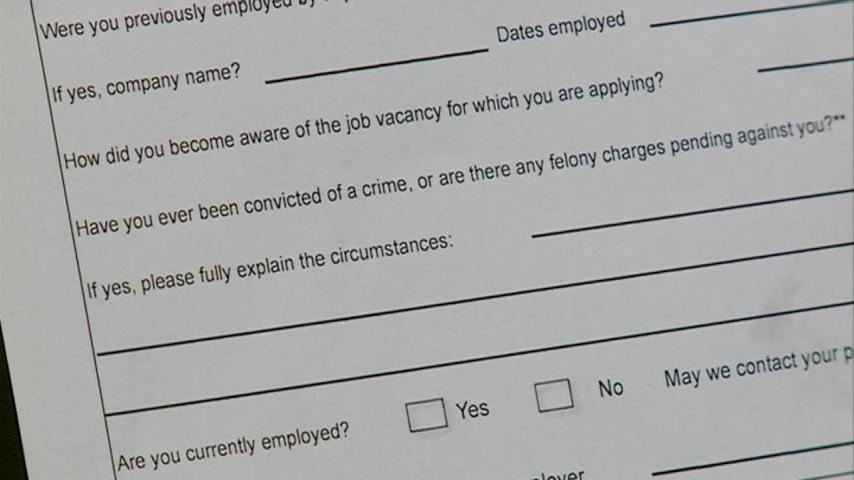 Activists push for removal of criminal record questions on job apps