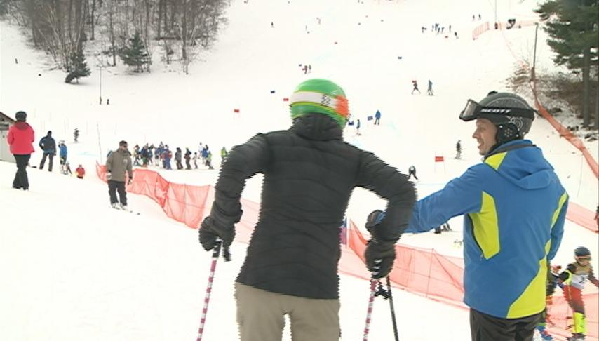 Skiers remember a fallen friend while hitting the slopes