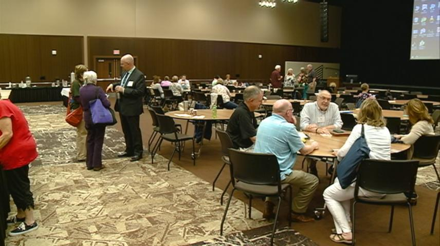 Conference prepares professionals to help dying individuals