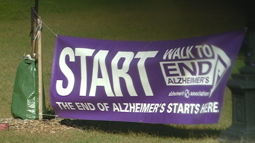 Walk to End Alzheimer's coming up this weekend