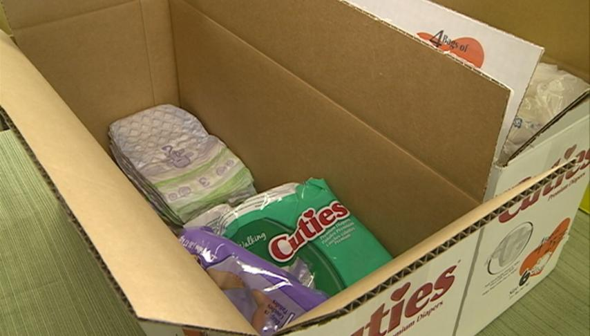 The Parenting Place gives diapers to those in need