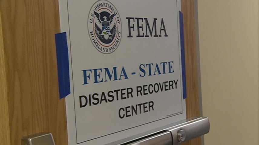 Disaster Recovery Center assisting flood victims in La Crosse