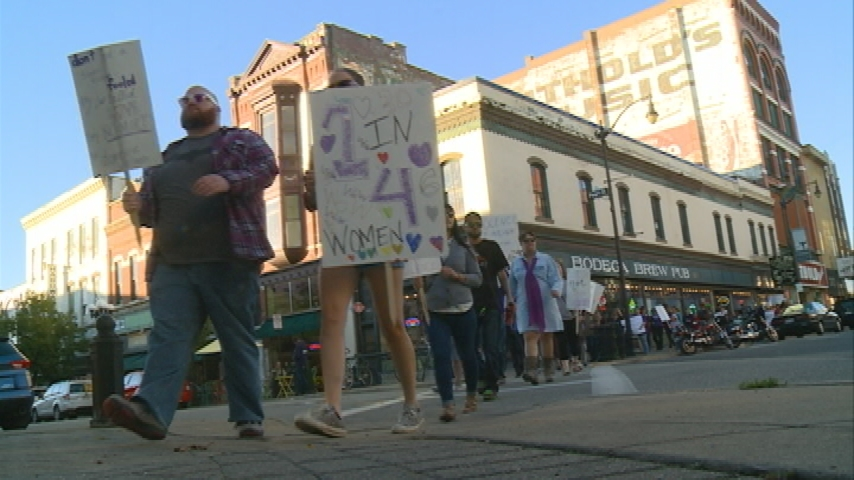 Community walks to end domestic abuse