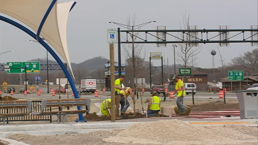 Exit 3 construction in La Crosse entering final month