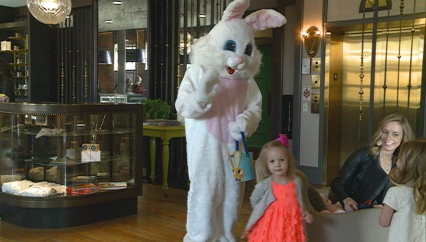 The Charmant Hotel hosts Easter brunch