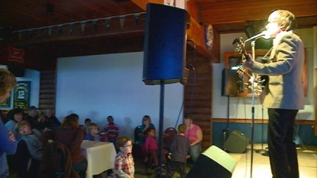 Features in West Salem hosts free concert for special needs kids