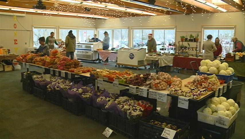 Winter Farmer's Market provides fresh produce after the frost
