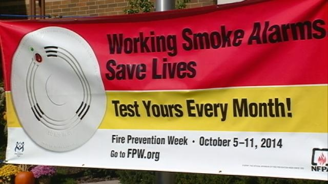 Onalaska Fire Department educates people about fire safety