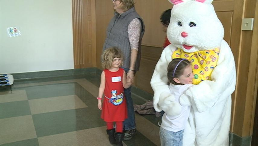 Catholic Charities hosts Easter Egg-stravaganza for foster and adoptive families