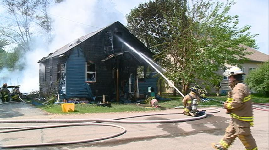 French Island fire likely started with house dryer