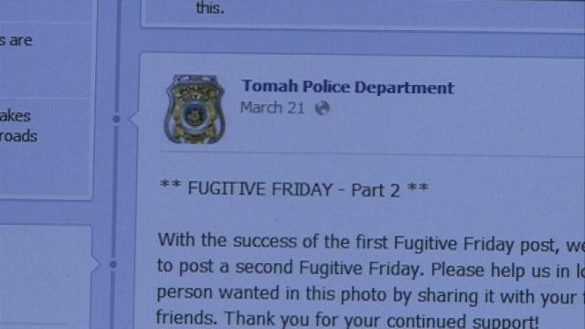 """Tomah P.D. finding success with """"Fugitive Friday"""""""