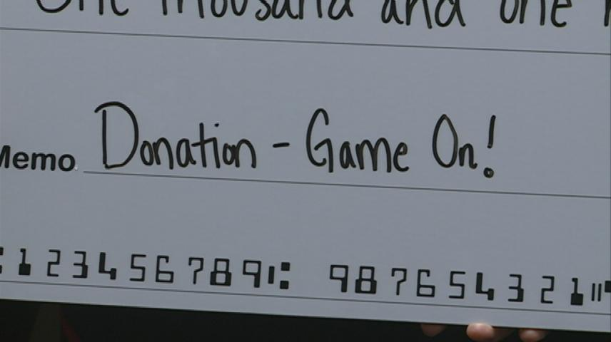 Local schools benefit from Game On event