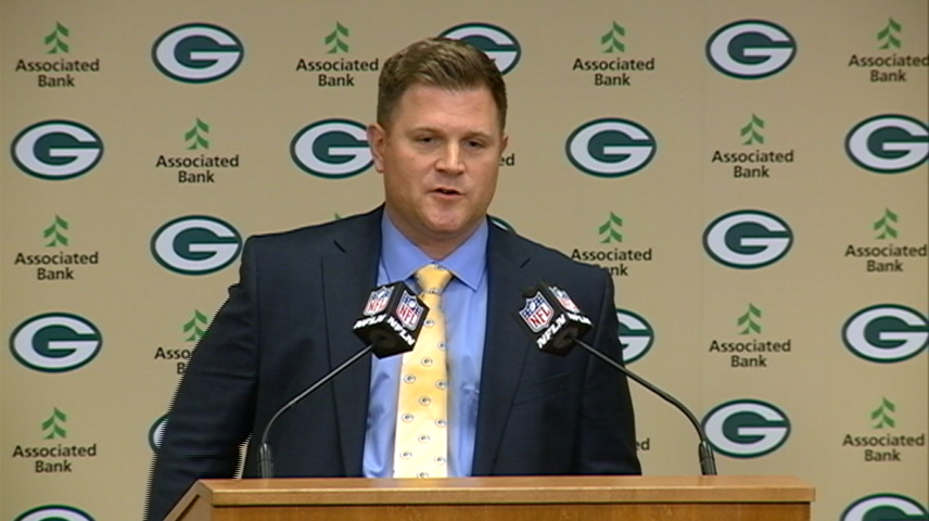 Green Bay reportedly promotes Brian Gutekunst to general manager