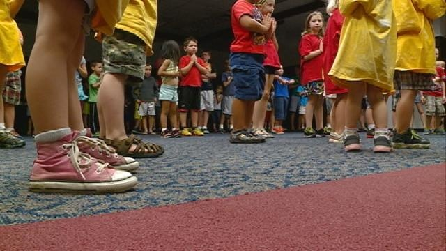 'Get Up and Go! Day' keeps kids active