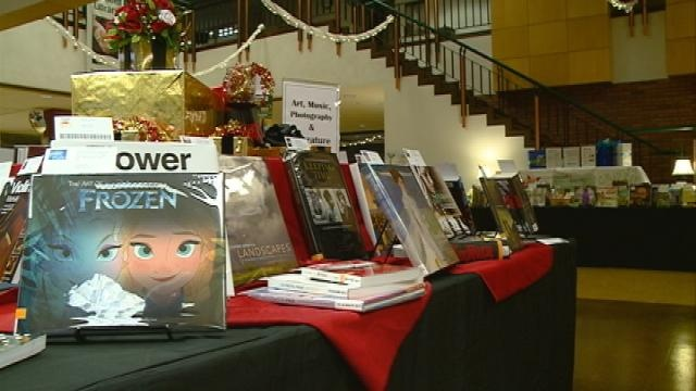 Give-a-Gift fundraiser helps build library's book collection