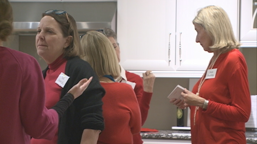 Go Red for Women hosts heart healthy cooking event