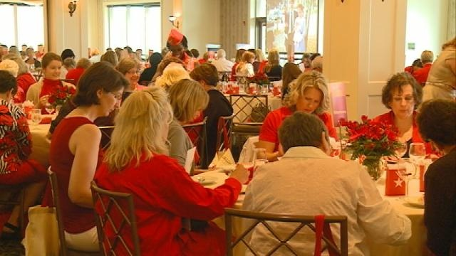 """10th Annual """"Go Red For Women Luncheon"""""""