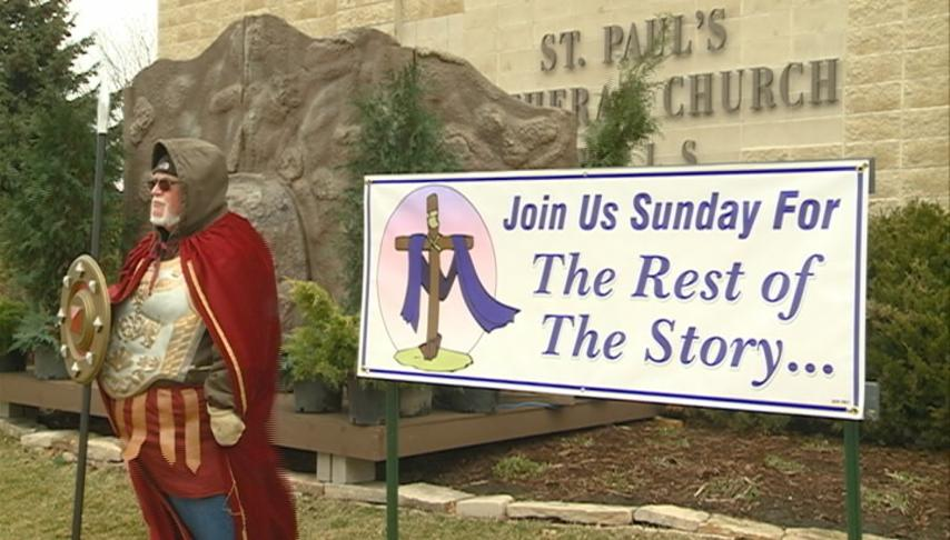 St. Paul's Lutheran Church celebrates Easter with reenactment