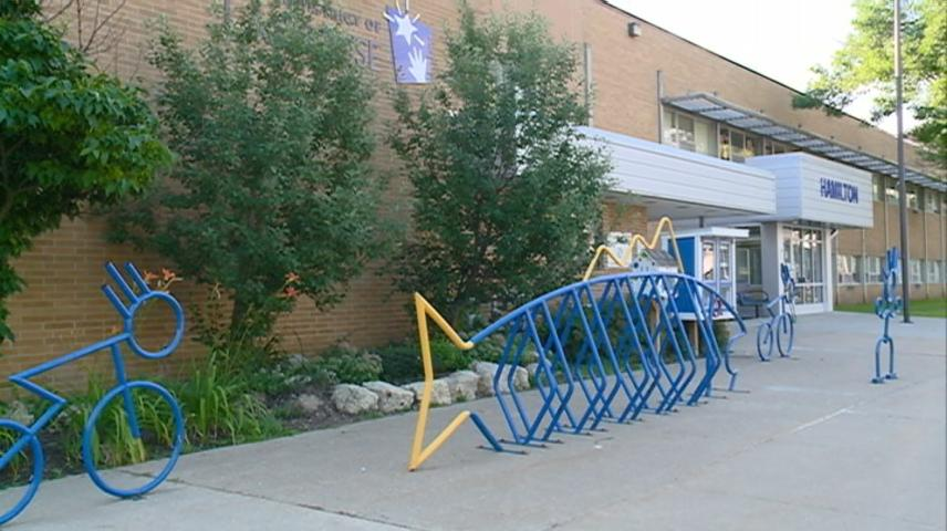 Hamilton Elementary welcome backs students for school