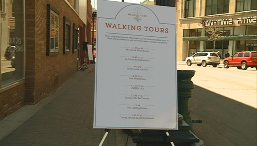"""""""Hear, Here"""" celebrates new stories with walking tours"""