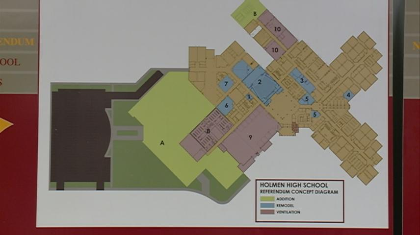 Holmen preparing for expansion of High School