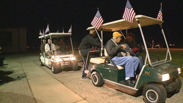 Veterans board plane for 16th Freedom Honor Flight