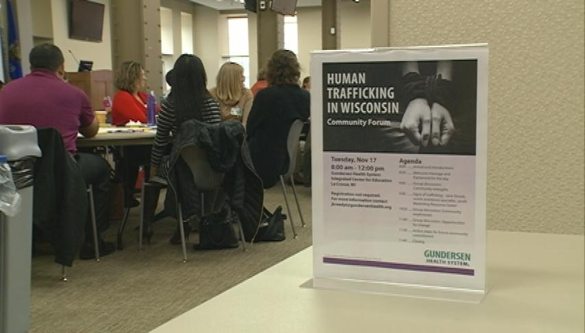 Community forum brings light to human trafficking issue