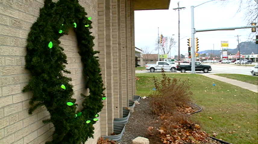 Local fire departments aim to keep the wreath green