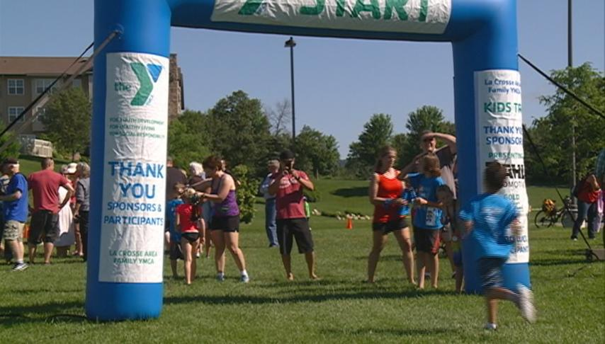 YMCA holds 9th annual kids tri
