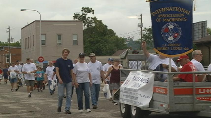 Labor Day parade held in La Crosse