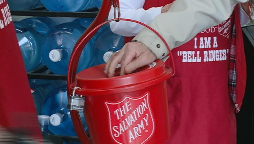 Salvation Army wraps up bell ringing this weekend