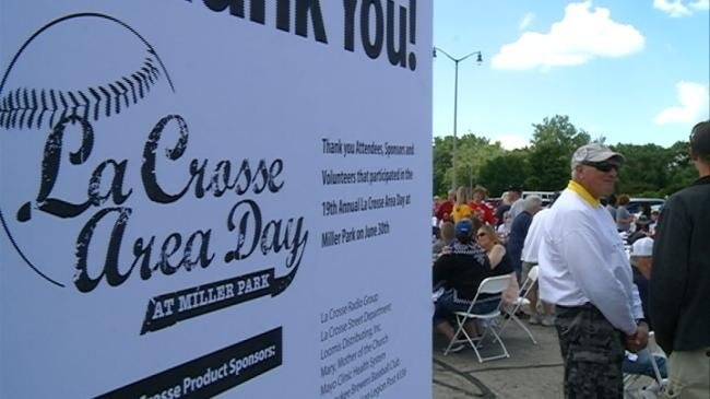 Hundreds make trip to Miller Park for La Crosse Area Day