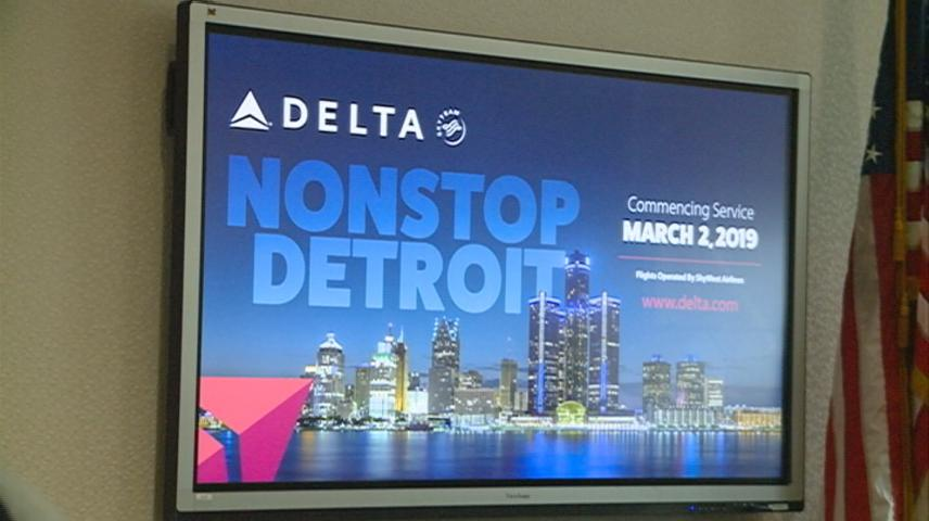 New flight from La Crosse to Detroit will take off in March
